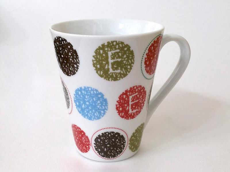 Tazza porcellana Colored Dots