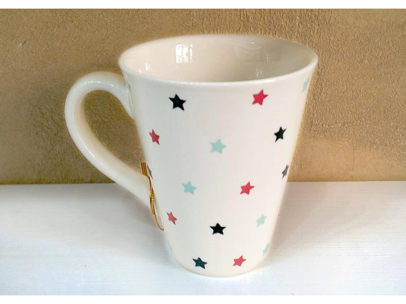Tazza Mug porcellana modello Little Stars 0,3cl