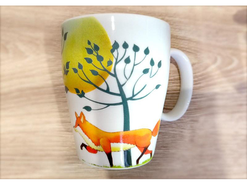 Mug Happy Fox