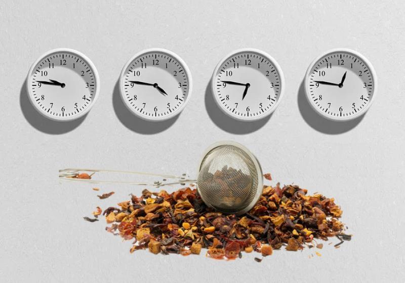 temperature e tempi di infusione dei tè nero, te' pu erh, tè oolong